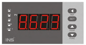 4 Digit Single Display Digital Controller Indicator