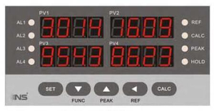 4 Digit 4 Channel Digital Controller Indicator